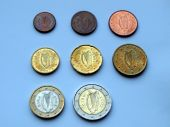 Irish Euro coins