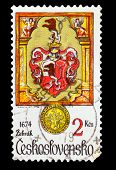 CZECHOSLOVAKIA - CIRCA 1979: A Stamp printed in CZECHOSLOVAKIA,