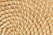 Background woven basketwork