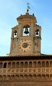 Fraternita Dei Laici Palace  Clock Tower In Arezzo