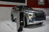 Mitsubishi Concept Gc At The Geneva Motor Show