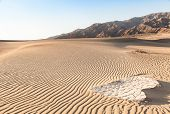 image of mesquite  - Sand dunes of Mesquite Flat in Death Valley Desert  - JPG
