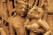 pic of tantric  - Indian lovers in tantric position north - JPG