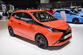 Toyota Aygo At The Geneva Motor Show
