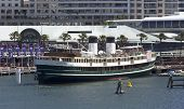 The Retired Ferryboat S.s. South Steyne In Darling Harbour.