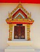 Thailand Wat Window