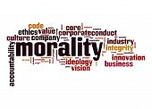 Morality Word Cloud