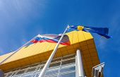 Samara, Russia - March  9, 2014: Ikea Samara Store. Ikea Is The World's Largest Furniture Retailer A