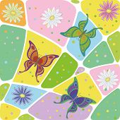 stock photo of naturalist  - Seamless pattern - JPG