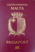 European Union passport front cover