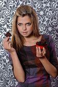Girl With Chocolate