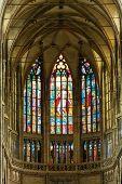 Interior of Saint Vitus Cathedral