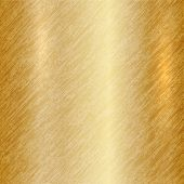 Vector abstract metallic gold background