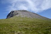 Meall an t-Suidhe , hill on a way to Ben Nevis