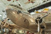 Chantilly- Usa, September, 26: Boeing 307 Stratoliner Flying Cloud On Display At The Smithsonian Air