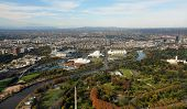 Aerial View Of Melbourne's Eastern Suburbs Including MCG.