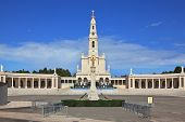 FATIMA, SPAIN - SEPTEMBER 29, 2008: The grand memorial and religious complex in the small Portuguese