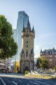 Eschersheimer Turm In Frankfurt