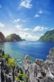 Lagoon in Palawan - Philippines.