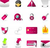 Icon Set Series - Web Security