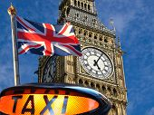 Big Ben And Union Jack