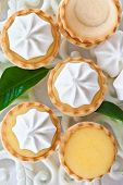 Little Meringue Lemon Pies
