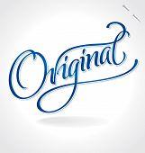 ORIGINAL hand lettering (vector)