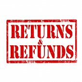 Returns & Refunds-stamp