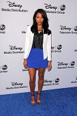 LOS ANGELES - MAY 19:  Kylie Bunbury at the Disney Media Networks International Upfronts at Walt Dis