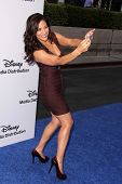 LOS ANGELES - MAY 19:  Constance Marie at the Disney Media Networks International Upfronts at Walt D