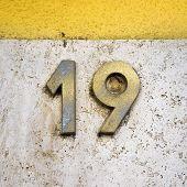Number 19