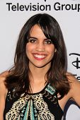 LOS ANGELES - MAY 19:  Natalie Morales at the Disney Media Networks International Upfronts at Walt D