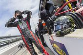 Indianapolis, IN - May 19, 2014:  Kurt Busch (26) takes to the track as he makes practice runs for t