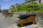 Belagerung Kanone auf der Derry Wände