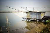 Fishing Hut On The Lagoon
