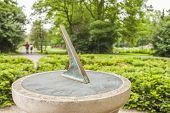 stock photo of sundial  - Close - JPG
