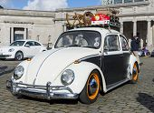 Old Fashion Vw Beetle Restored