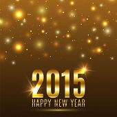 Happy New Year 2015 celebration background