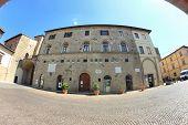 Palazzo Pretorio In Sansepolcro, Italy
