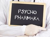 Doctor Shows Information: Psychiatric Medication In German
