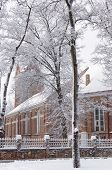 Snow and Church