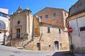 Church of St. Vincenzo. Acerenza. Basilicata. Italy.