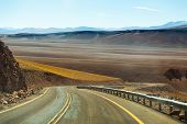 Amazing road in Atacama
