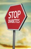 stock photo of diabetes symptoms  - Creative sign with the message  - JPG