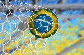 Amazing Brazilian Goal in the Stadium of Rio de Janeiro
