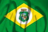 Flag of Ceara, Brazil