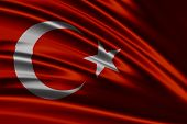 Amazing Flag of Turkey