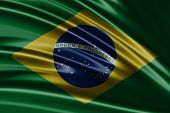Amazing flag of Brazil