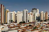Amazing view of Sao Paulo City , Brazil