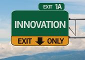 Creative Innovation Exit Only, Road Sign